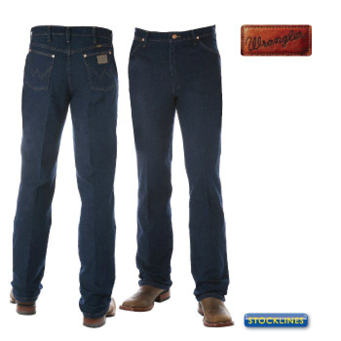 Wrangler Mens Western Boot Cut Stretch Jean