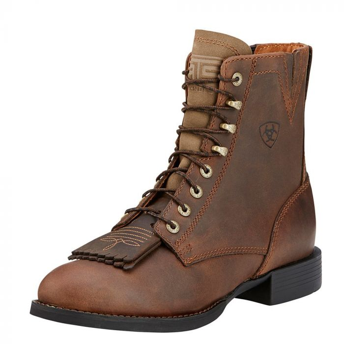 ARIAT Womens Heritage Lacer II Boot - DB - 100C