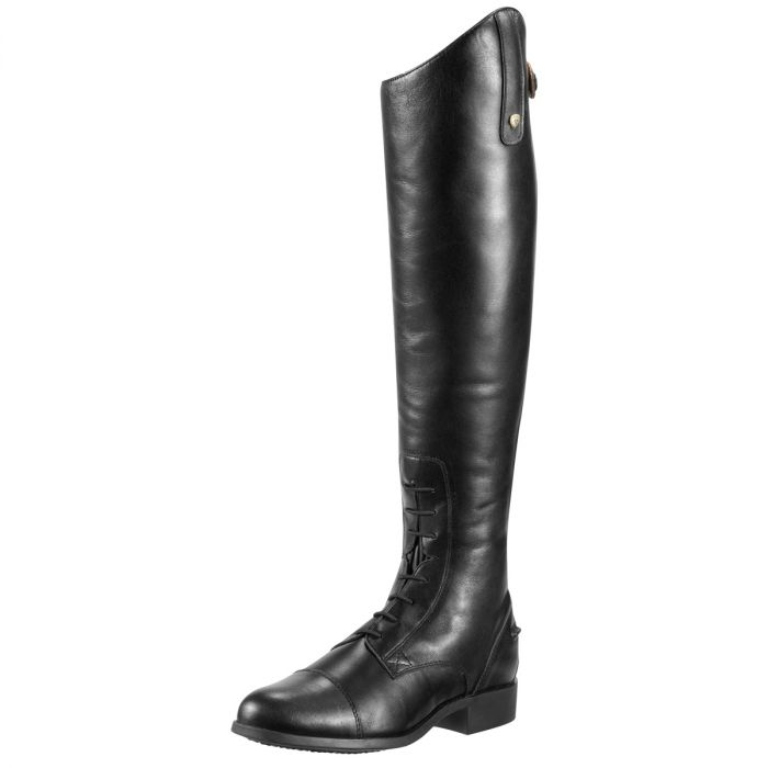 Ariat WMS Heritage Contour Field Zip Tall Boots - Black