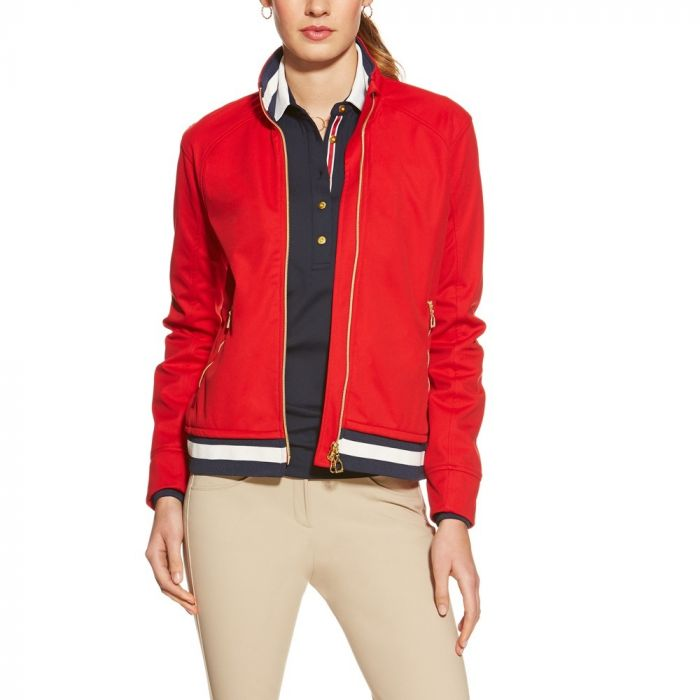 Ariat Womens Ultime Softshell Jacket - Red