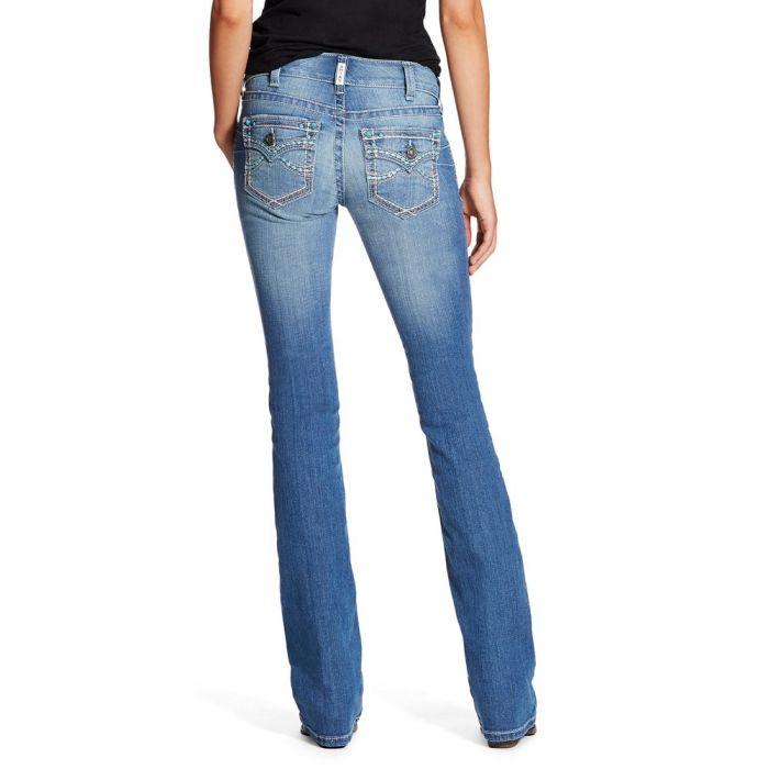 Ariat WMNS R.E.A.L. Riding Jeans - Low Rise - Boot Cut - Isabel Flap