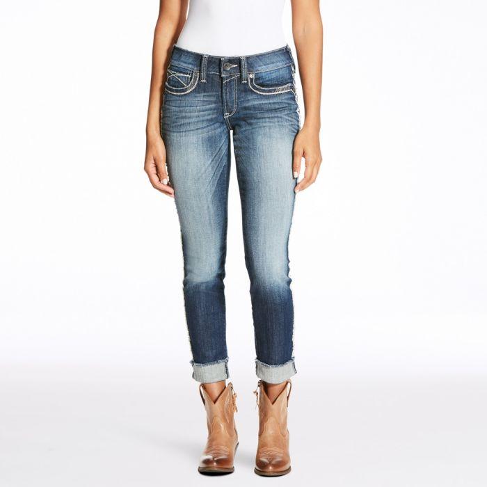 Ariat R.E.A.L.Riding Jeans - Mid Rise - Skinny Leg - Frey Marine