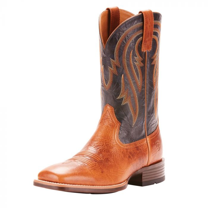 Ariat Mens Plano - Gingersnap / Army Blue