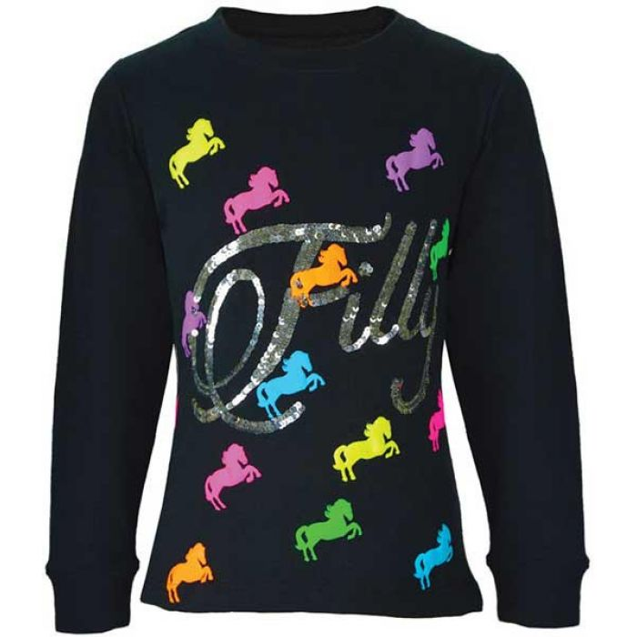 Thomas Cook Girls Neon Filly L/S Top