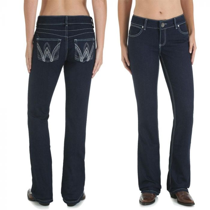 Womens P-Patch Booty Up Sits Above Hip Jean