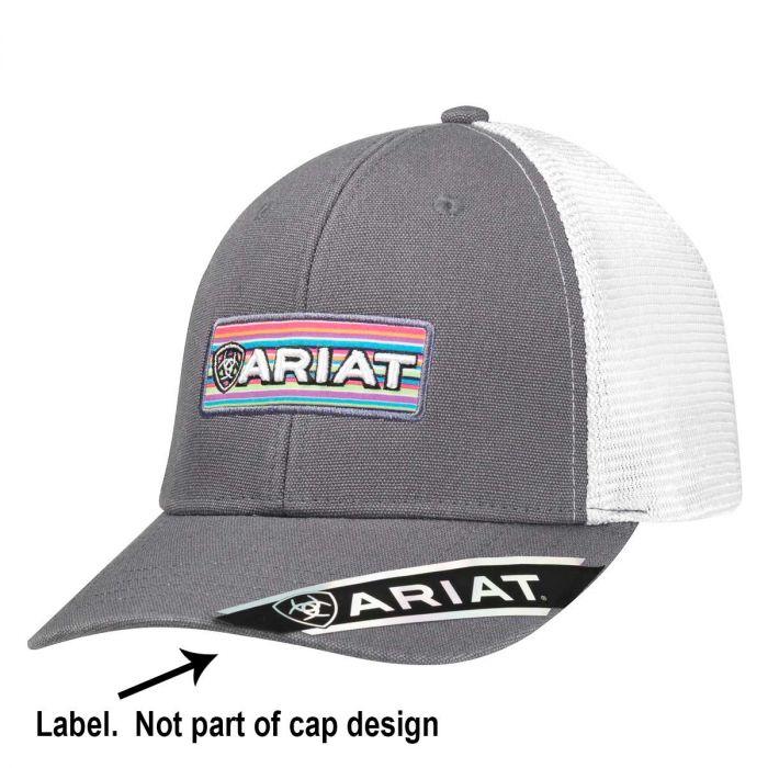 Ariat Cap - Grey Trucker