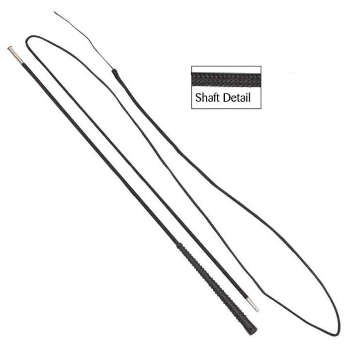 2 Piece Lunge Whip - Black 180cm