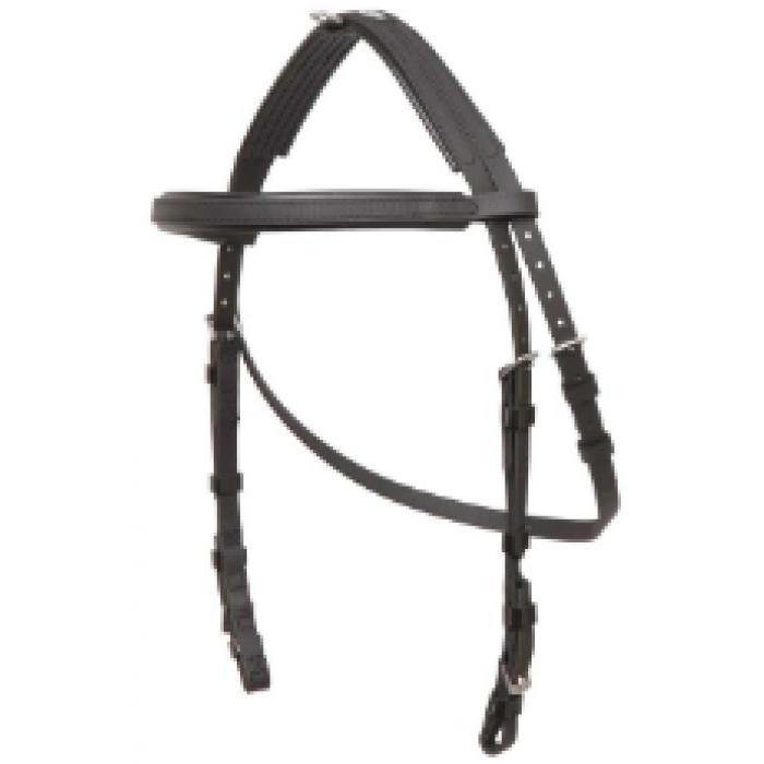 Zilco Hackamore Bridle Cob Size - Black