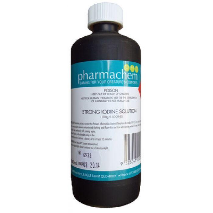 Pharmachem Iodine Strong 10% 500mL