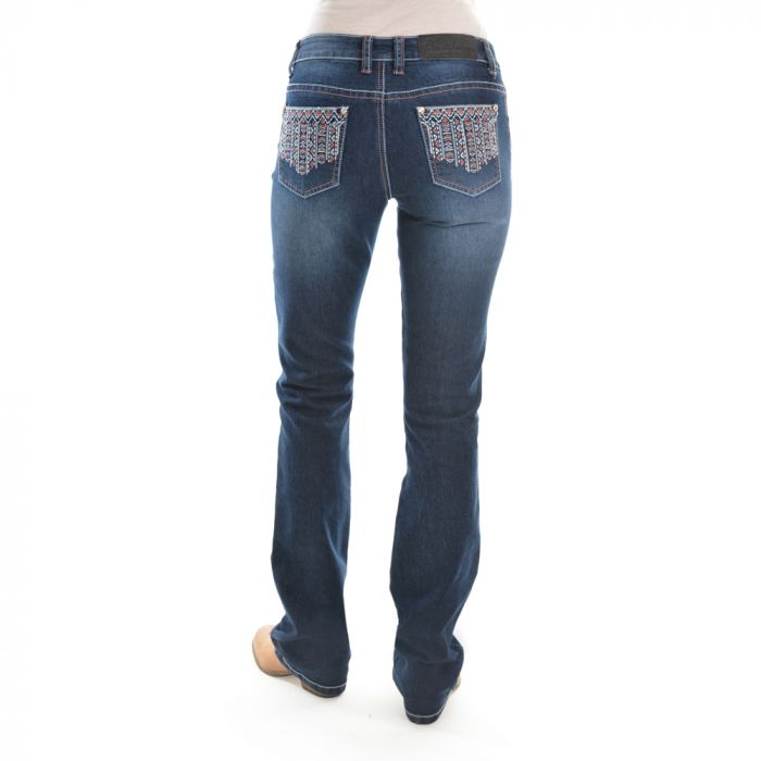 Pure Western Angie Relaxed Rider Jean - Boot Cut