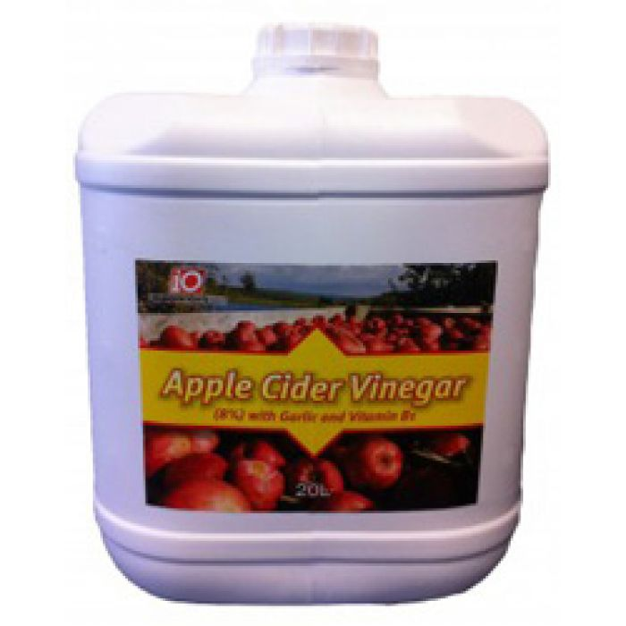 Apple Cider vinegar with Garlic and B1 for horses