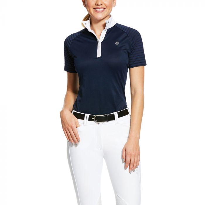 Ariat Aptos Vent Show Shirt - Navy - S