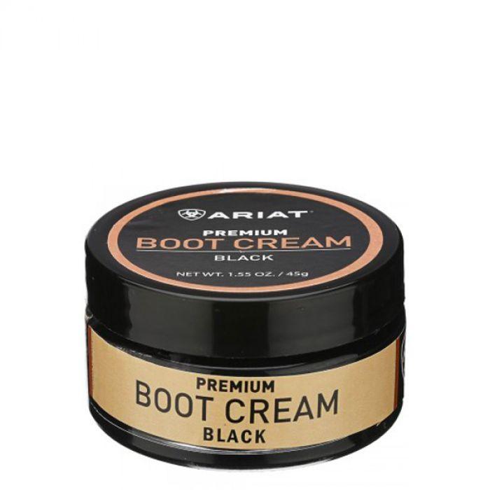 Ariat Boot Cream - Black 45g