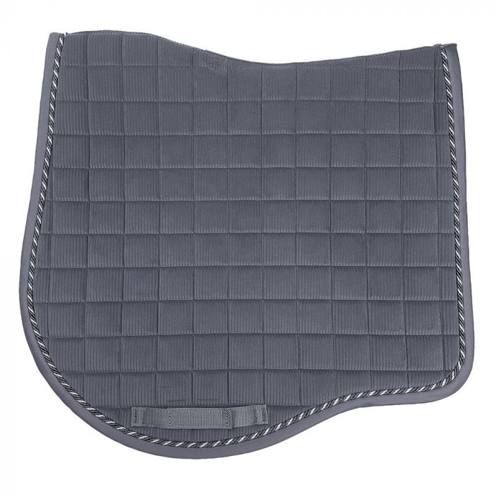 Aurora  Dressage Saddlecloth - Dark Grey