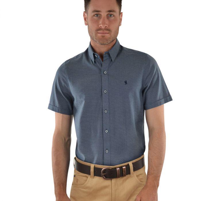 Thomas Cook Baxter Tailored Short Sleeve Shirt