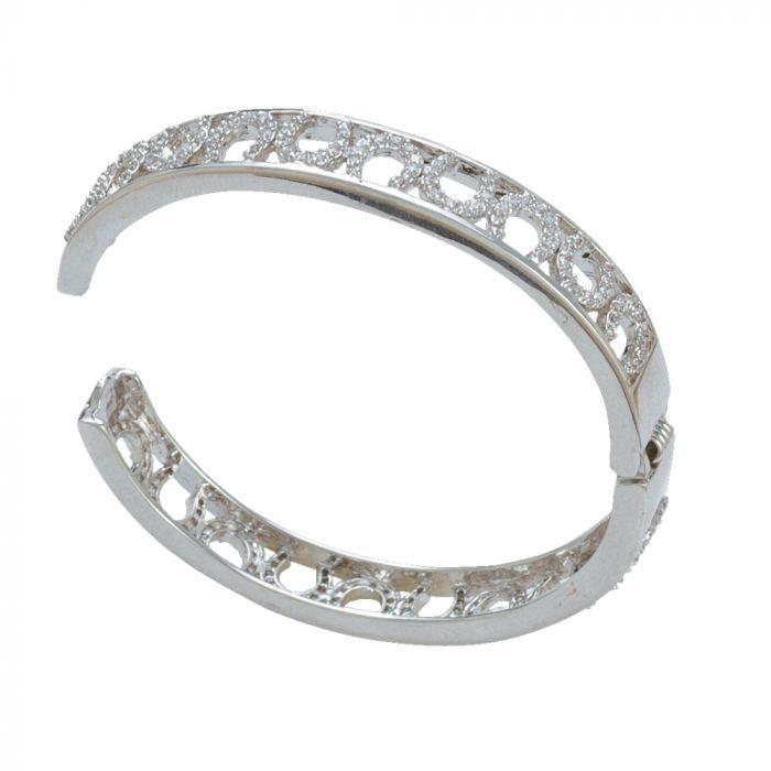 Montana - Horseshoe Hinged Bracelet