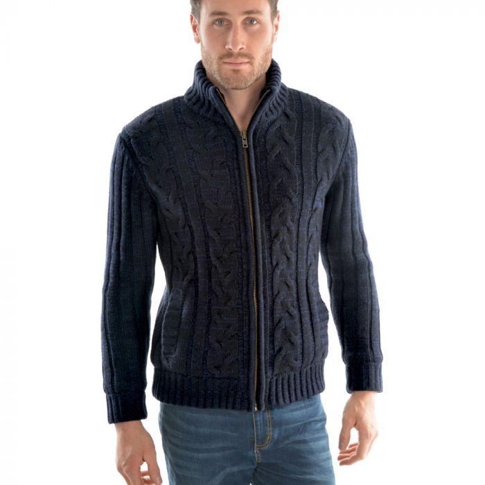 Thomas Cook Beacon Zip Thru Knitted Jacket