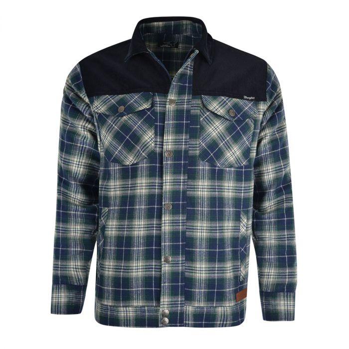 Wrangler Mens Beaumont Shirt Jacket