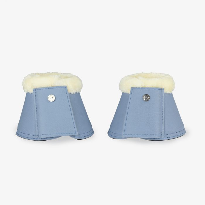 PSOS Monogram Bell Boots - Light Blue