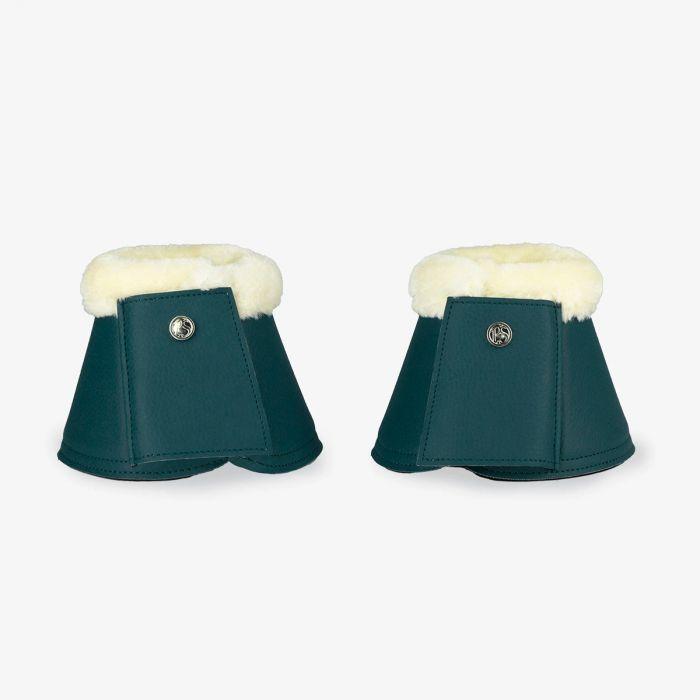 PSOS Monogram Bell Boots - Petrol