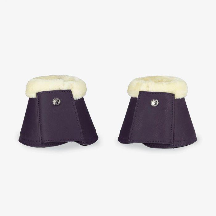 PSOS Monogram Bell Boots - Plum