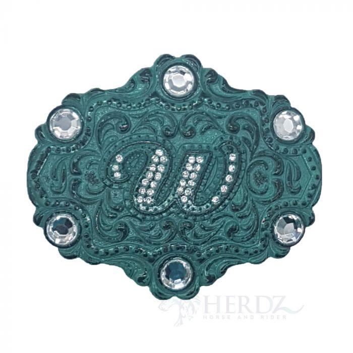 Wrangler Womens Vintage Jewel Belt Buckle