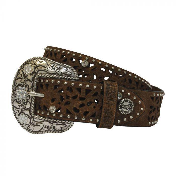 Wrangler Women's Diamond Cut Out Belt