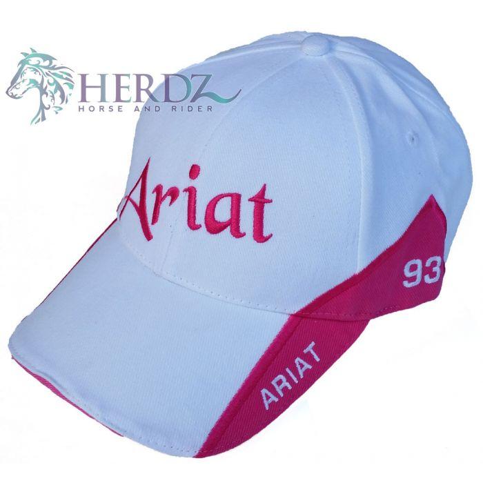 Ariat Cap Pink and White Signature