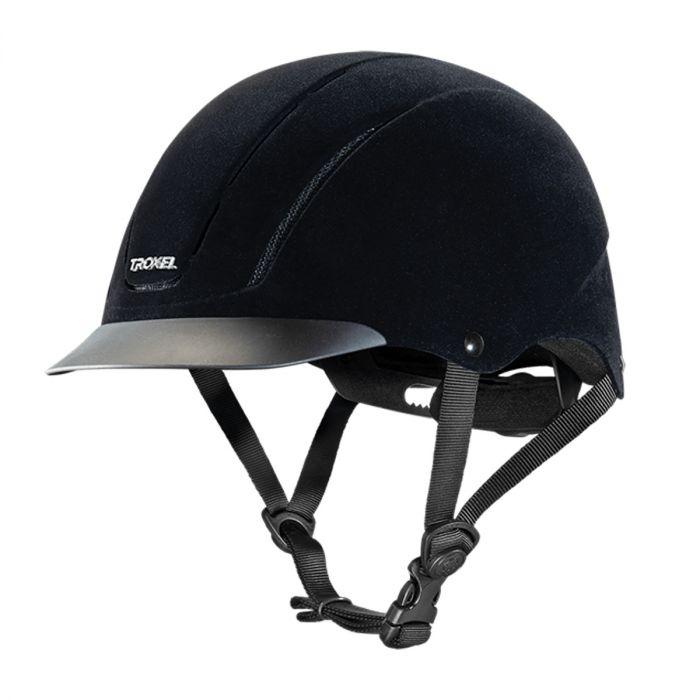 Troxel Helmet - Capriole Black Velveteen