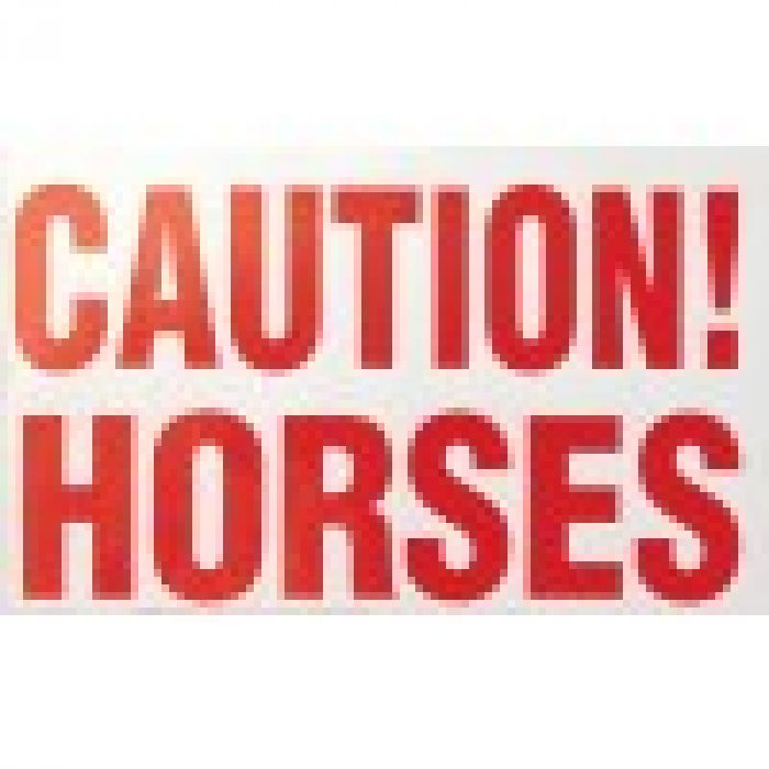 Stickers - Cautions Horses