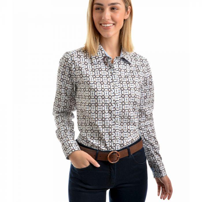 Thomas Cook Christina Print Long Sleeve Shirt