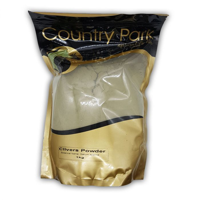 Clivers Powder 1kg - Country Park Herbs for horses