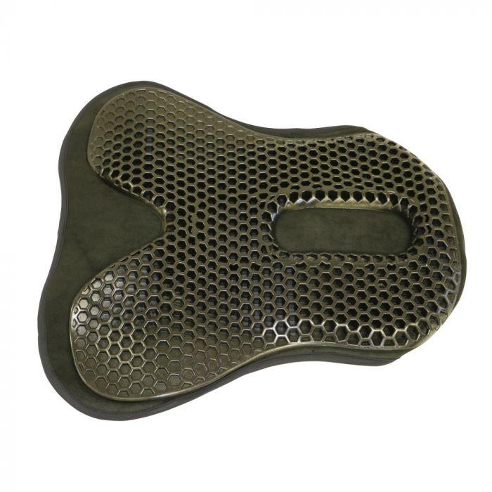 Acavallo Seat Saver Gel Pad Ortho-Coccyx Dressage - Large - Black
