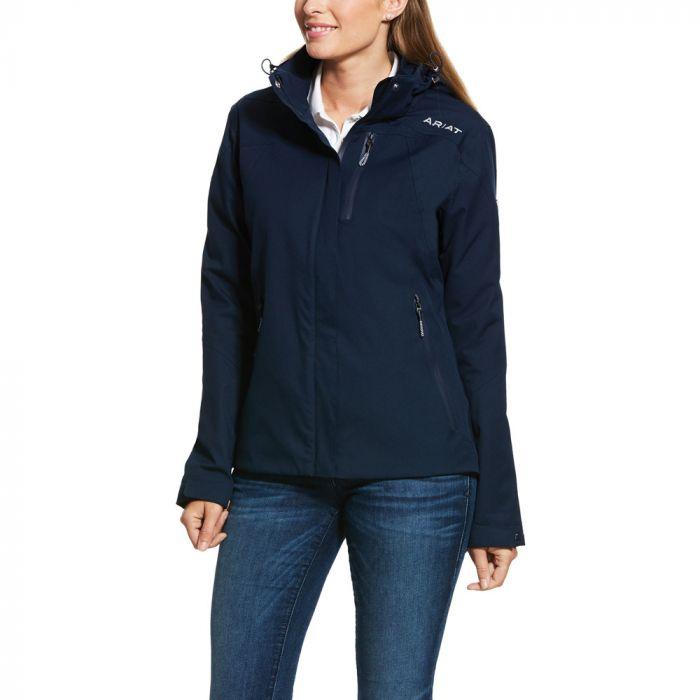 Ariat Womens Coastal Waterproof Jacket - Navy