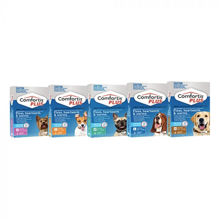 Comfortis Plus for Dogs 6 pk