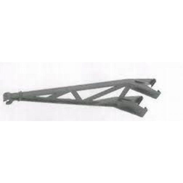 Steel post 300 mm plastic offset
