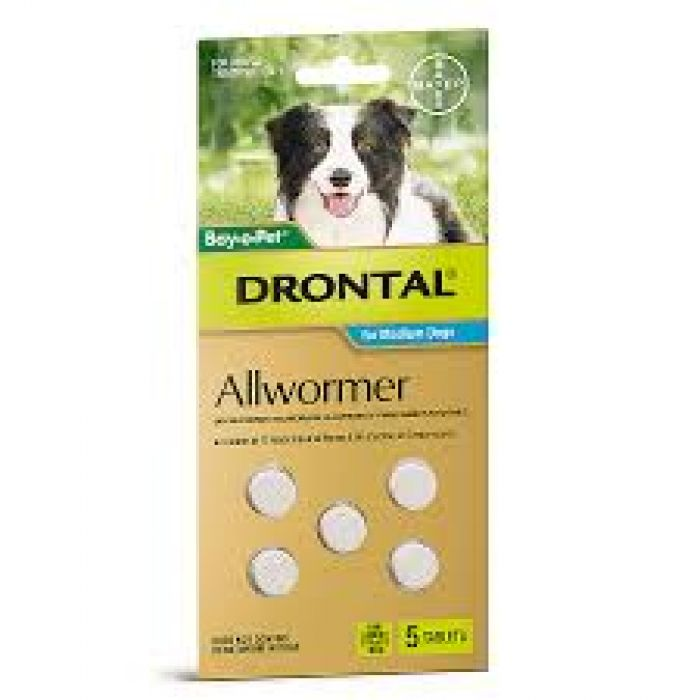 Drontal Tablets All Wormer for Dogs