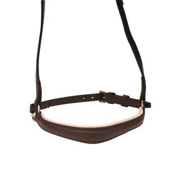 Bridle - Trophy (English Leather) Dressage Bridle Shaped - Black