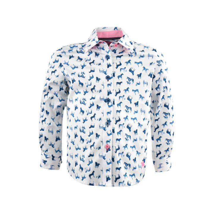 Thomas Cook Girls Ebony Long Sleeve Shirt
