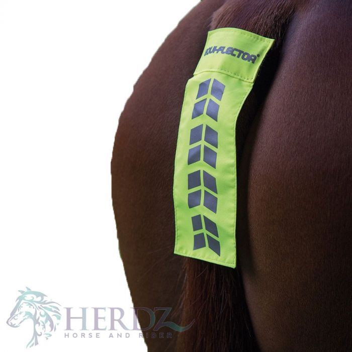 EQUI-FLECTOR Tail Strap - Yellow