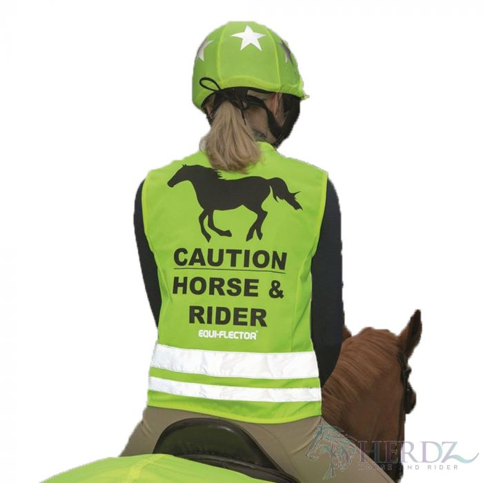 EQUI-FLECTOR Mesh Safety Vest - Yellow