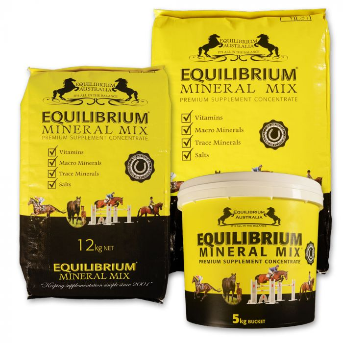 Equilibrium Mineral Mix - Yellow
