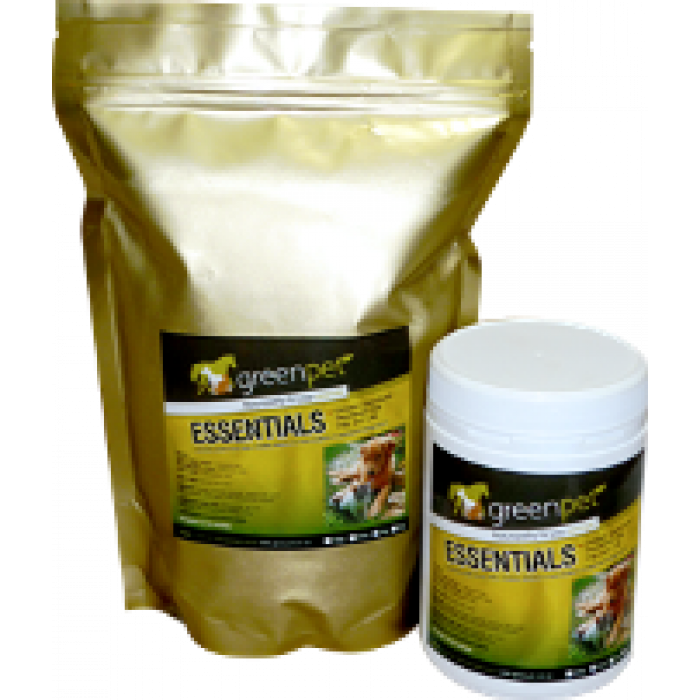 Greenpet Essentials - vitamins, minerals, enzymes, trace elements and fatty acids for dogs and cats