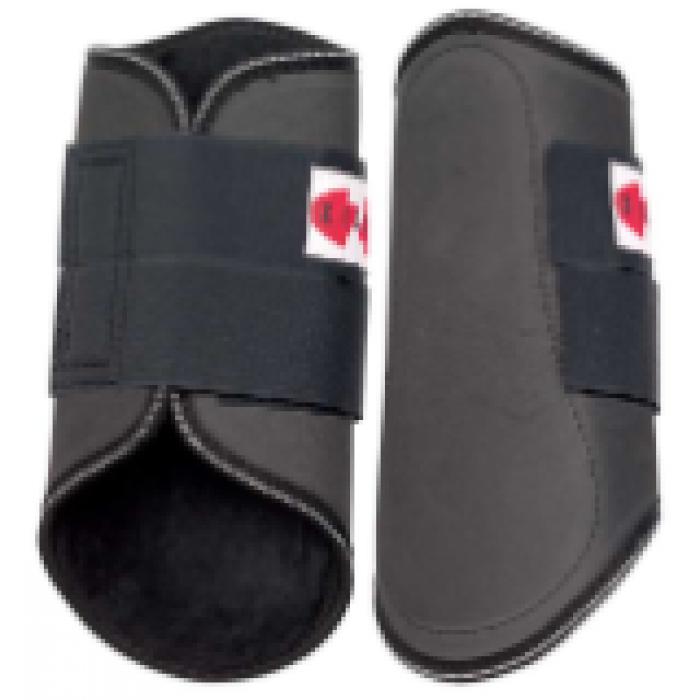 EVA Splint Boots (Fleece) - Black