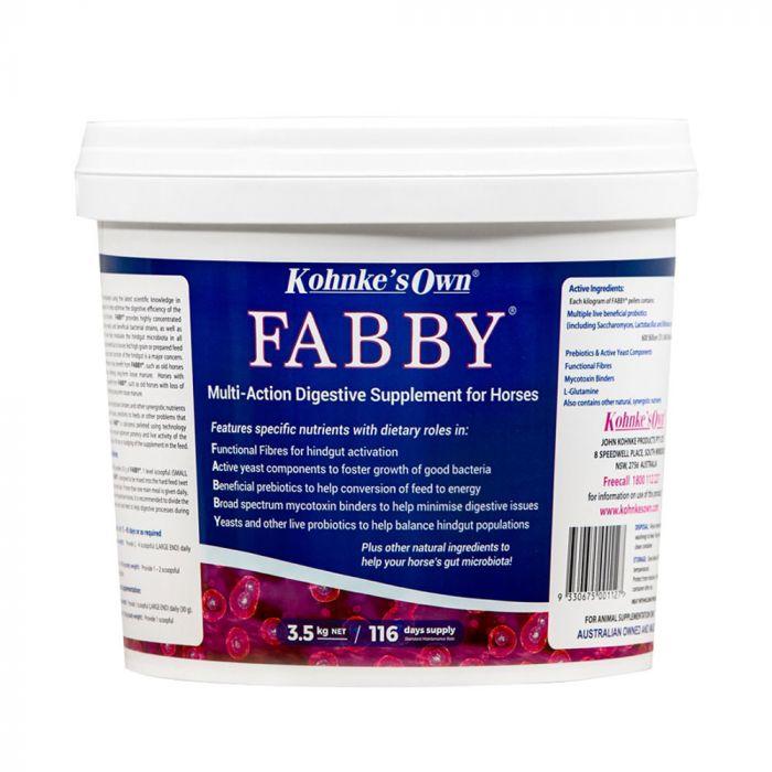 Kohnkes Own Fabby 3.5kg