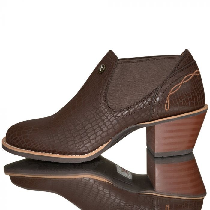 Twisted X Womens Western Fashion Ankle Boot - Brown