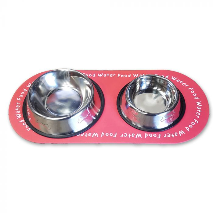 Pet Food and Water Station