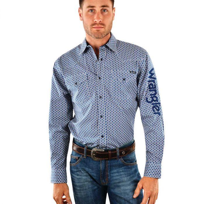 Wrangler Mens Gibson Logo Shirt