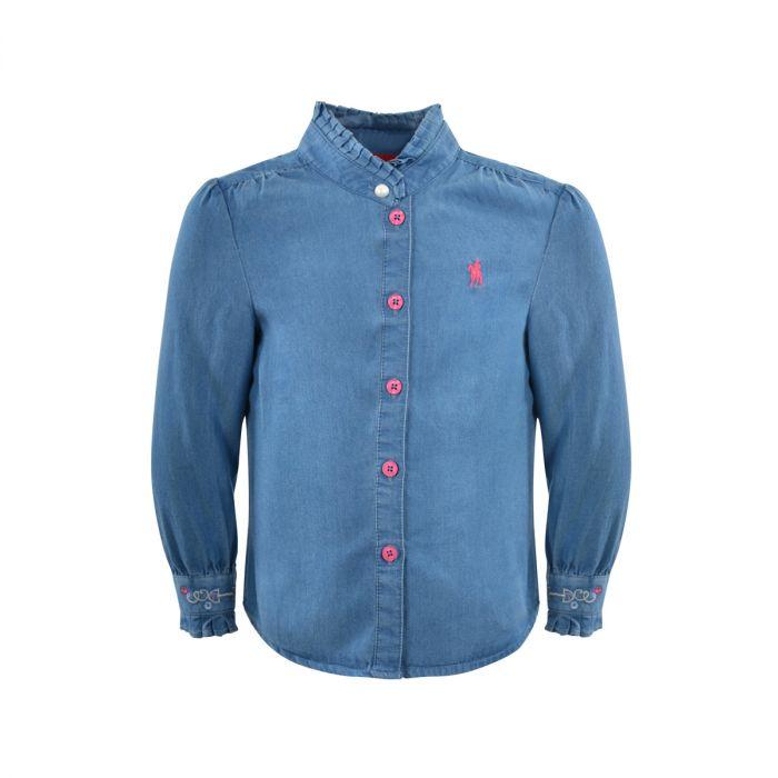 Thomas Cook Girls Laura Long Sleeve Shirt