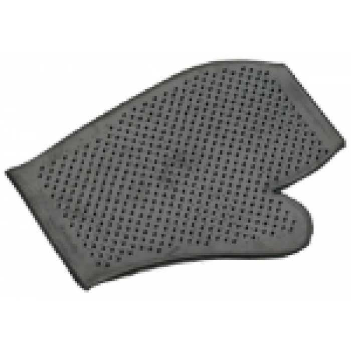 Groomit Glove - Rubber glove with pimples on both sides so that it can be used in either hand.
